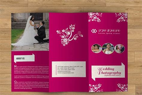 Wedding Company Brochure by Event Management Brochure 11 Designs Templates Free