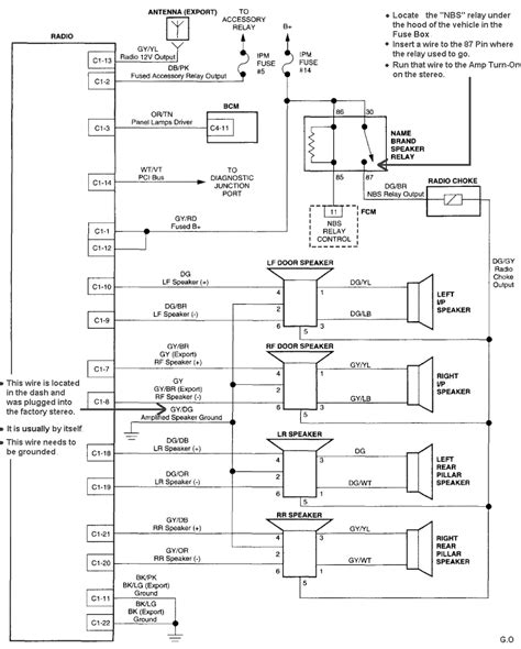 infinity car stereo wiring diagram infinity free engine