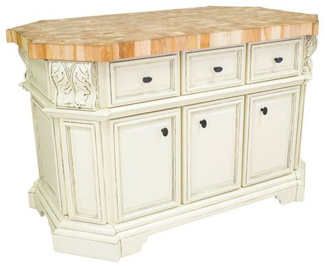 dallas kitchen island antique white traditional