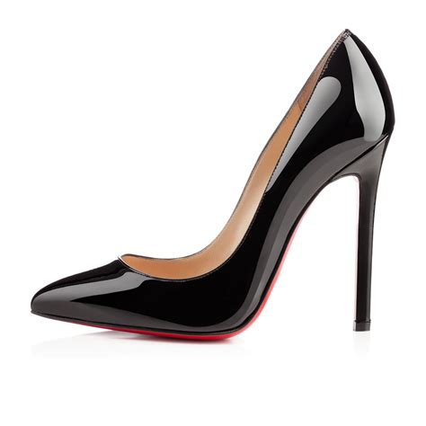 christian louboutin shoes christian louboutin pointed toe patent leather pumps