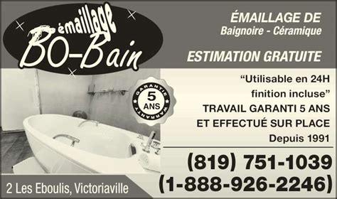 Emailleur Baignoire by Emaillage Bo Bain Victoriaville Qc 2 Rue Des 201 Boulis