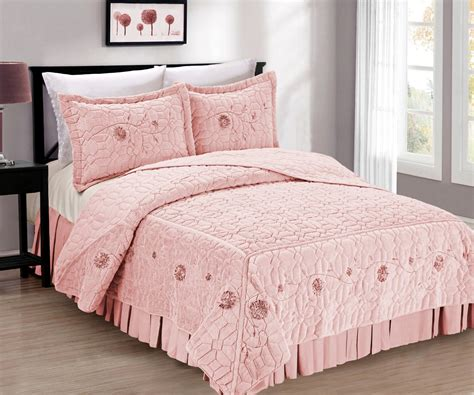 faux fur bed ribbon embroidered faux fur bed spreads blissful comforts