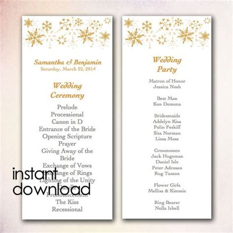 diy wedding program template diy wedding programs wedding program templates and