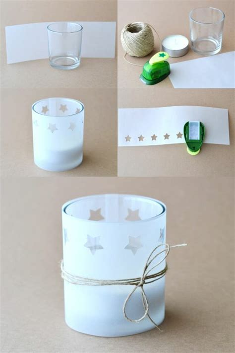 Teelichthalter Basteln Glas by 1001 Inspirierende Ideen Einige Ausf 252 Hrliche