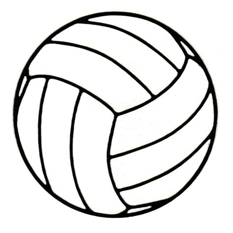 volleyball outline printable volleyball pictures clip art cliparts co