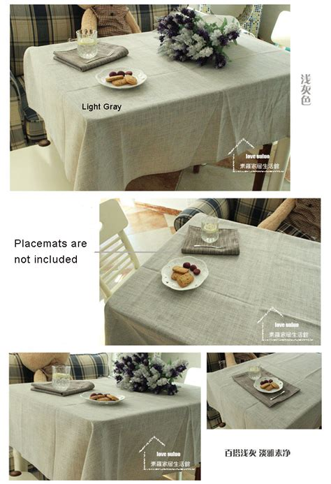 kitchen table cover kitchen table cover dining linen fabric gray tablecloth cotton