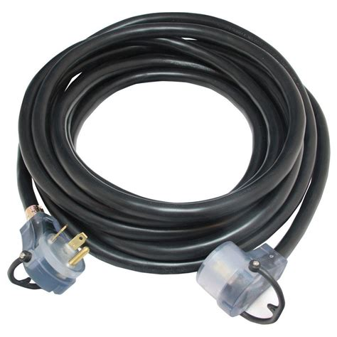 rodale 25 ft 30 rv extension cord with led rv30a25wl