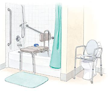 bathtub safety equipment krames online bathroom safety after surgery