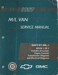 car engine repair manual 1997 chevrolet astro user handbook 1997 chevrolet gmc m l vans astro safari factory service repair manual 2 vol set