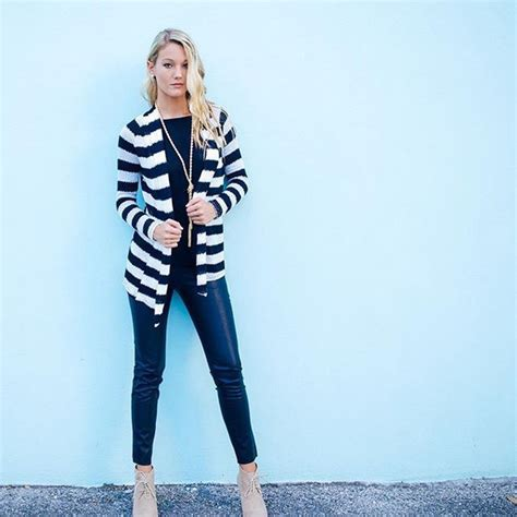 cardigan black cardigan white cardigan stripes striped