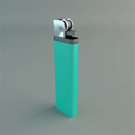 How To Light A Cigarette Without A Lighter Or Matches by Cigarette Lighter 3d Model Max Cgtrader