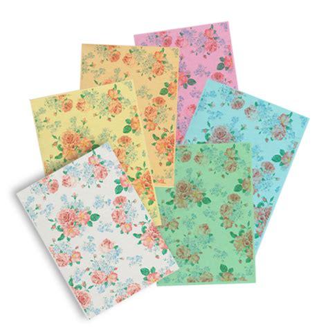 patterned wafer paper floral pattern printed wafer paper sle pack