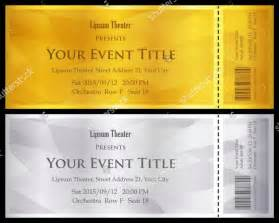 Free Ticket Templates by Ticket Voucher Template 11 Free Psd Eps Format