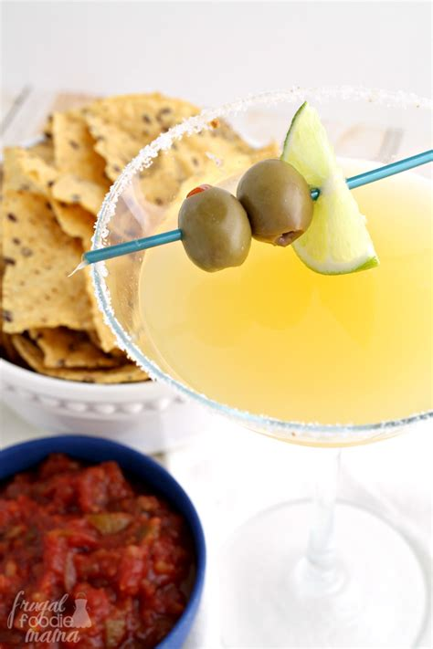 mexican martini frugal foodie mama the mexican martini