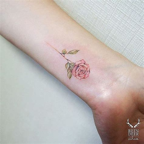 delicate rose tattoo 16 beautiful watercolor designs for styles