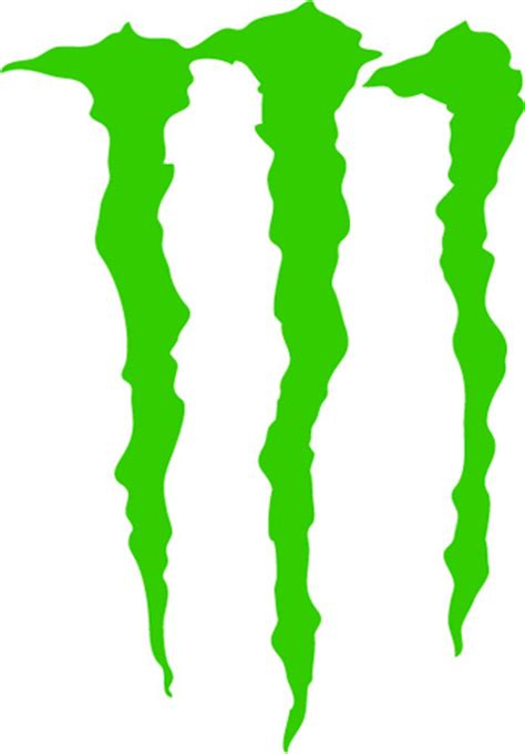 Monster energy scratches vinyl sticker 163 1 99 blunt one affordable bespoke vinyl signs and