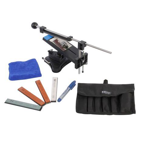 sharpening supply professional knife sharpener tools system kitchen fix angle sharpening stones pk ebay
