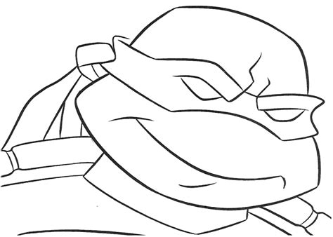coloring page of ninja free coloring pages of leonardo turtle