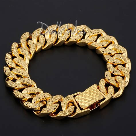 Gelang Stainless Steel Bohemia Open Cuff popular 14mm gold chain buy cheap 14mm gold chain lots from china 14mm gold chain suppliers on