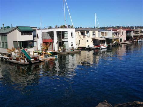 roanoke reef floating homes seattle afloat seattle