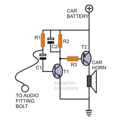 how to build and install a simple car burglar alarm system