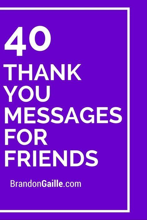 thank you letter to friend for birthday gift 23 best thank you messages and quotes images on