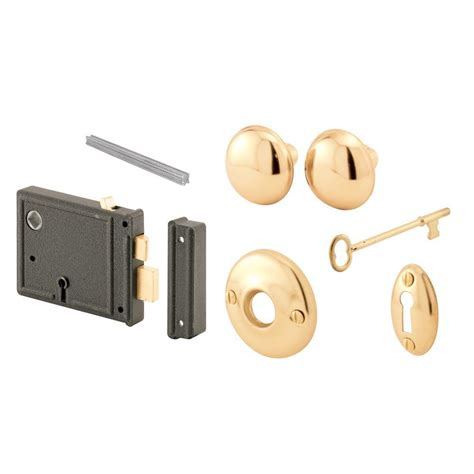 prime line style keyed mortise entry lock set e