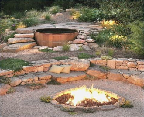 Offene Feuerstelle Garten