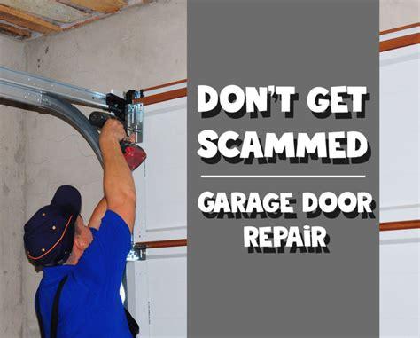 Appalachian Trail Dad Is Learning Garage Door Repair Scams