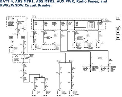 2007 impala abs wiring diagram wiring diagrams wiring