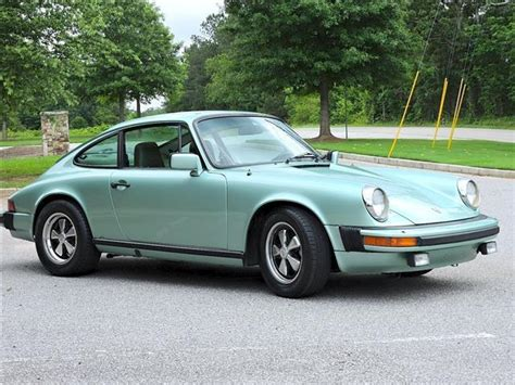 porsche 911 olive green classic 1977 porsche 911 s ice green coupe 2 7l manual