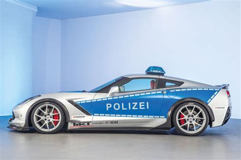 police corvette stingray chevrolet corvette c7 stingray police cars germany