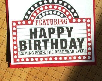 Birthday Cards For Theatre