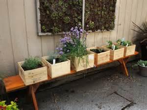 herb garden box wine boxes herb garden blueberry hill crafting