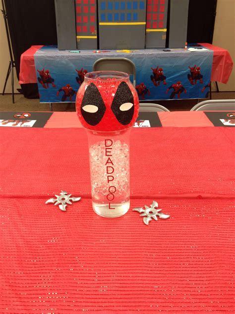 Spider man vs Deadpool Birthday Party #4   Enchanted
