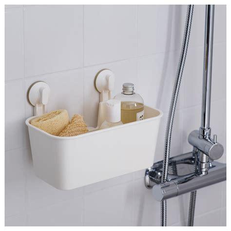 ikea bathroom basket stugvik basket with suction cup white ikea