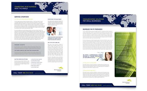 datasheet template word global communications company datasheet template design
