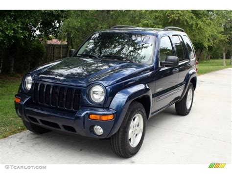 jeep liberty limited 2004 2004 patriot blue pearl jeep liberty limited 30036519