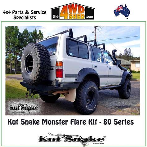 kut snake monster flare kit  series landcruiser ute kit