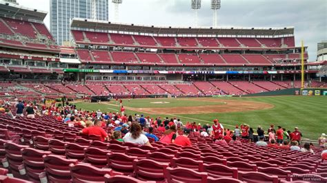Great American Ball Park Section 135 Cincinnati Reds