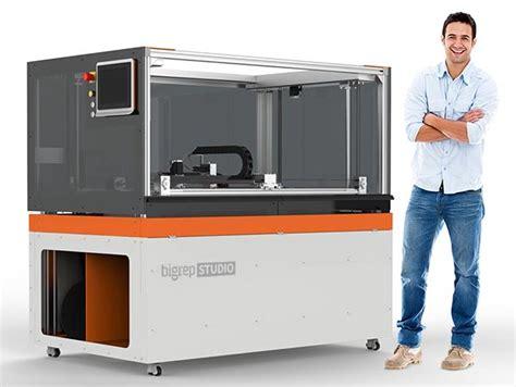 How To Build An Affordable Home 3d printer the new bigrep studio bigrep gmbh