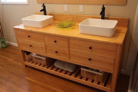 custom made vanity table crafted sink vanity by farmhouse table company