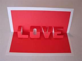 pop up word card craft crossing