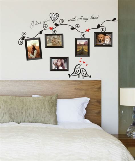 photo frame home decorative wall stickers window door