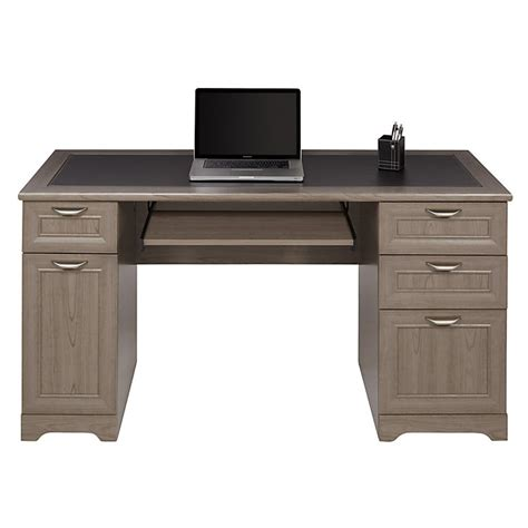 Magellan Computer Desk Realspace Magellan Outlet Collection Managers Desk 30 Quot H X 58 3 4 Quot W X 23 1 4 Quot D Gray Sku