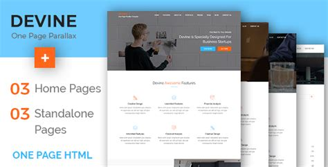 one page parallax template free one page parallax template