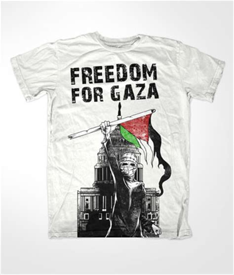 Tshirt Kaos Freedom For Gaza freedom for gaza white islamic t shirt 163 12 99
