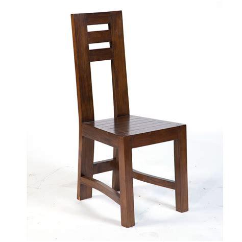 magnifique chaise en teck massif finition antik