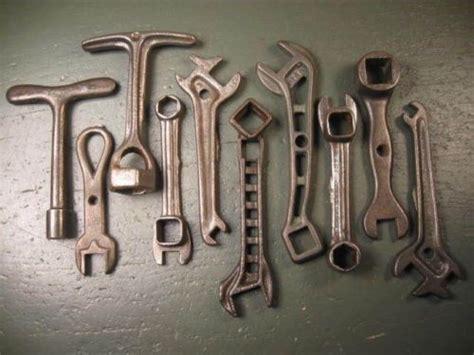 vintage mechanics tools rare antique iron