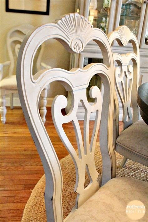 paint dining room chairs how to spray paint dining chairs refresh restyle